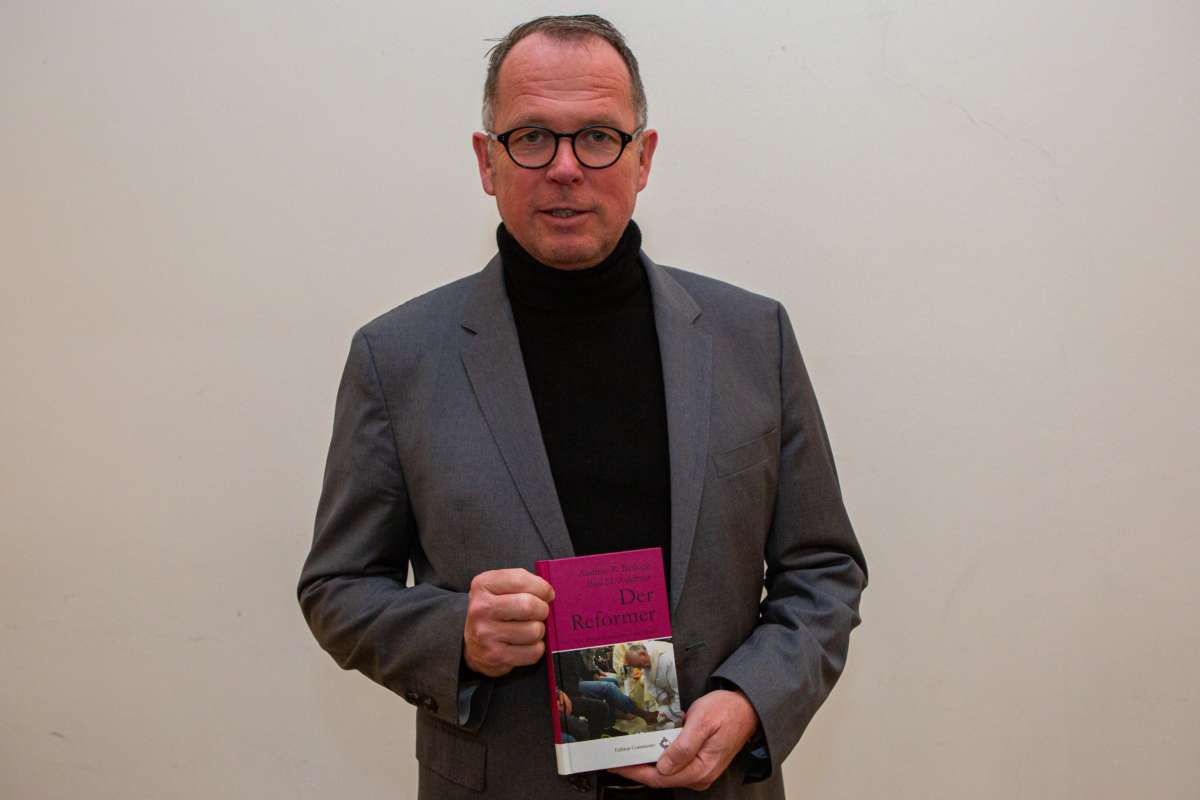Buch über Franzsikus von Pater Batlogg SJ, Vorstellung von Pate
