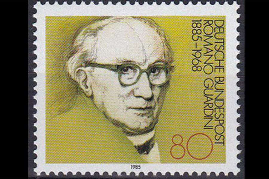 Guardini Briefmarke 1985